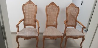 6 Antique Dining Chairs in Stuttgart, GE