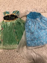 "Frozen Anna Elsa dresses 18"" doll American Girl in Naperville, Illinois"