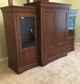 Tom's Price, Real Wood, Beautiful Three Piece Entertainment Center in Naperville, Illinois
