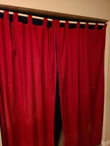 Main Stays Mainstays Red Tab Top Curtains Panels Drapes Window Treatment Home Decor Living Room ... in Kingwood, Texas