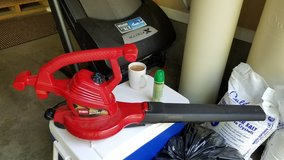 Toro corded leaf blower vacuum in Fort Campbell, Kentucky