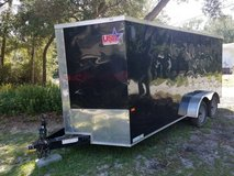 Like New!! 7 X 16 Cargo Trailer in Beaufort, South Carolina