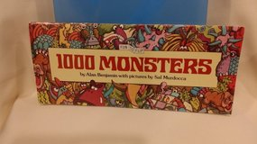 1000 Monsters - FUN TO FLIP Book in St. Charles, Illinois