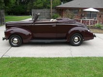 1940 Ford Deluxe Convertible,, in Tomball, Texas