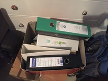 Two boxes with folders (German DIN A 4) in Stuttgart, GE