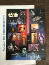 2007 Star Wars Characters 30th Anniversary Commemorative Collectors Stamp Set in Yucca Valley, California