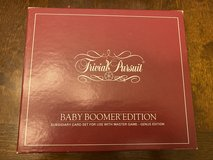 Trivial Pursuit Baby Boomer Card Set in Aurora, Illinois