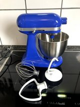 Kitchen Aid Mini in Twilight blue with  equipment in Ramstein, Germany
