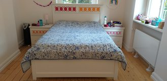QUEEN BED AND END TABLES in Wiesbaden, GE