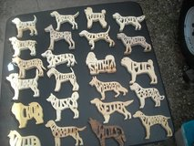 Dog Wooden cutouts - close out in Fort Riley, Kansas