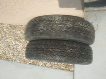 2 165/80/13 tires in Yucca Valley, California