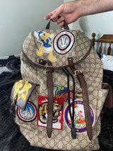 Gucci Donald backpack in Hinesville, Georgia