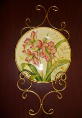 Hand Painted Plates European Country Living in Ramstein, Germany
