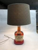 Maker's Mark Bourbon Lamp in Beaufort, South Carolina