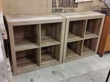 Cube book cases in Fort Campbell, Kentucky