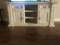 Real wood TV stand in Fort Polk, Louisiana