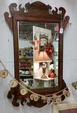 Oak Frame Mirror ` Antique in Fort Campbell, Kentucky