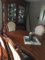 Dining Table and Armoire in Chicago, Illinois