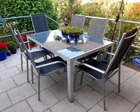 Patio Table and 6 Patio Chairs in Wiesbaden, GE