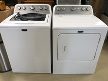 Maytag Washer and Electric Dryer set in Okinawa, Japan