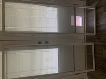 White Cordless Add On Enclosed Aluminum Blinds in Warner Robins, Georgia