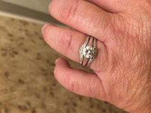 1ct solitaire diamond with Bands in Fort Polk, Louisiana