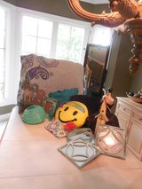 """A """"Tween"""" Bedroom Collection - Comforter, Pillows, Mirror, Misc. Decorations - New Price in Oswego, Illinois"""