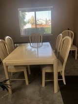 Table and chairs in Travis AFB, California