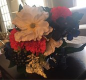 Red,White,Blue Faux Flowers in St. Charles, Illinois