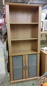 Bookcase w/glass doors in Fort Campbell, Kentucky