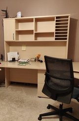 Desk andf Hutch in Plainfield, Illinois