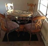 Dining room set with Glass table in Hopkinsville, Kentucky