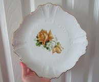 Collector Porcelain Plate with Gold Trim in Katy, Texas