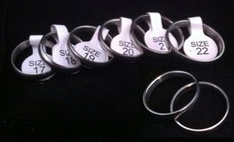 Different Sizes Silver Rings Each 5 euro in Wiesbaden, GE