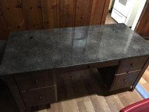 Granite top desk in The Woodlands, Texas