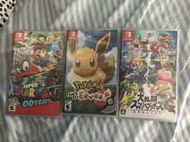 Selling Switch games in Okinawa, Japan