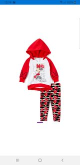 Minnie mouse red outfit new in Aurora, Illinois