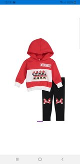Minnie mouse bow outfit set new in Aurora, Illinois