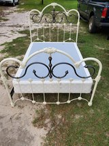Full size iron bed in Fort Polk, Louisiana