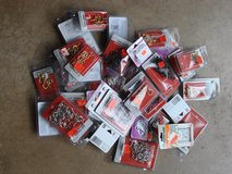 PACKS OF DIFFERENT SIZES AND COLORS OF CUP HOOKS in Batavia, Illinois
