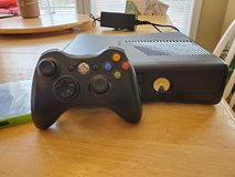 Xbox 360 + Controller and game Skyrim in Clarksville, Tennessee