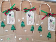 3 Gift Bags Winter-Christmas 5 x 8 1/2 inches in Ramstein, Germany