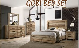 United Furniture -Full Size Gobi Bed Set complete with (Basic) Mattress + Box Frame and deliver... in Baumholder, GE