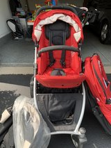Britax B-ready stroller with 2nd Seat& bassinet in Naperville, Illinois