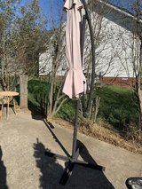 Umbrella and stand in Clarksville, Tennessee