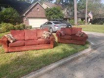 free couch and loveseat in Houston, Texas
