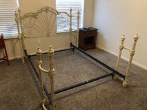 Full size iron headboard & frame in Cleveland, Texas