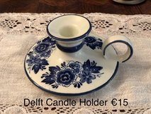 Delft Candle Holder in Ramstein, Germany