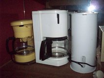 Lot of 3 Coffee Makers in Ramstein, Germany