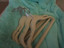 Real Simple 20-Count Kid's Flocked Hangers in Naperville, Illinois
